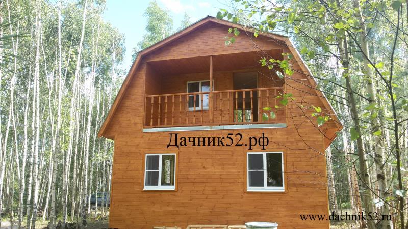 Каркасный дом 6х6 фото