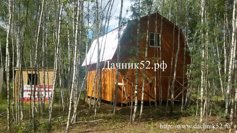 Каркасный дом фото 6х6