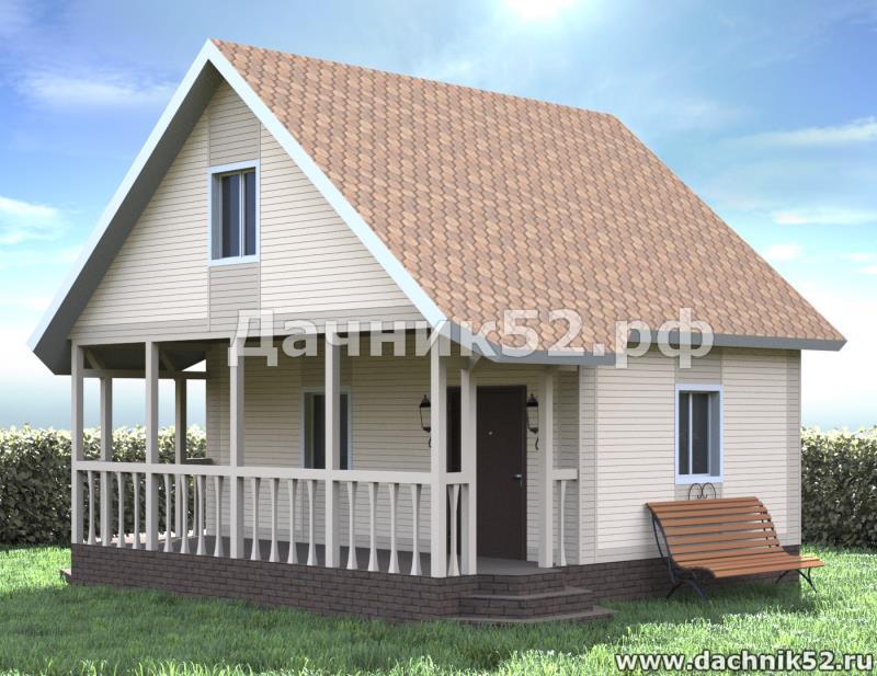 каркасный дом балчуг 8