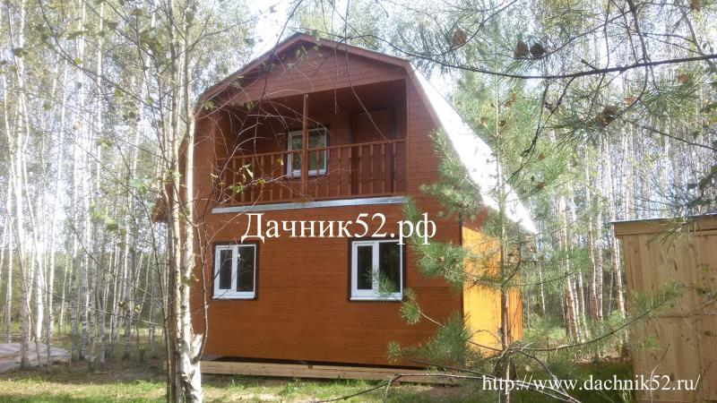 каркасный дачный дом фото