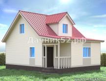 Дом 6х8 с кукушкой