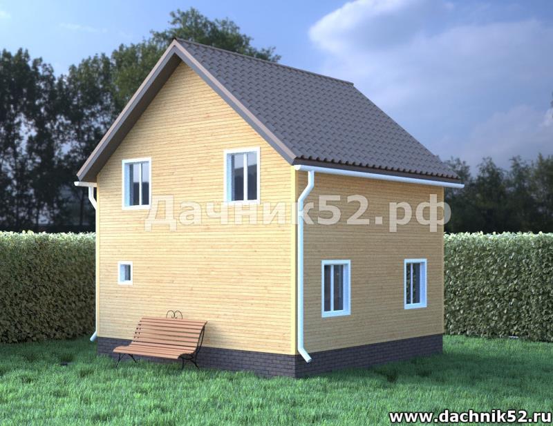 Каркасный дом 72кв.м.