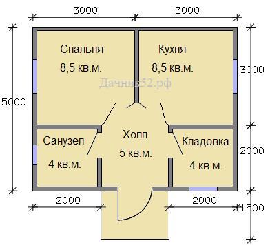 План дома вариант 2