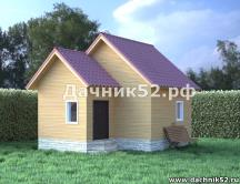 Дачный домик 5х6 прима14