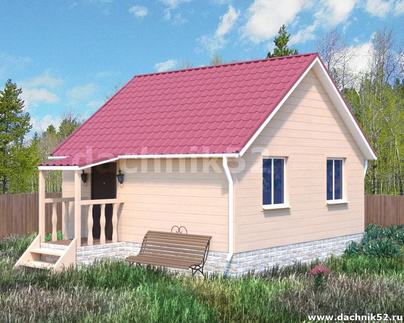 Каркасный дом - Нижегородец