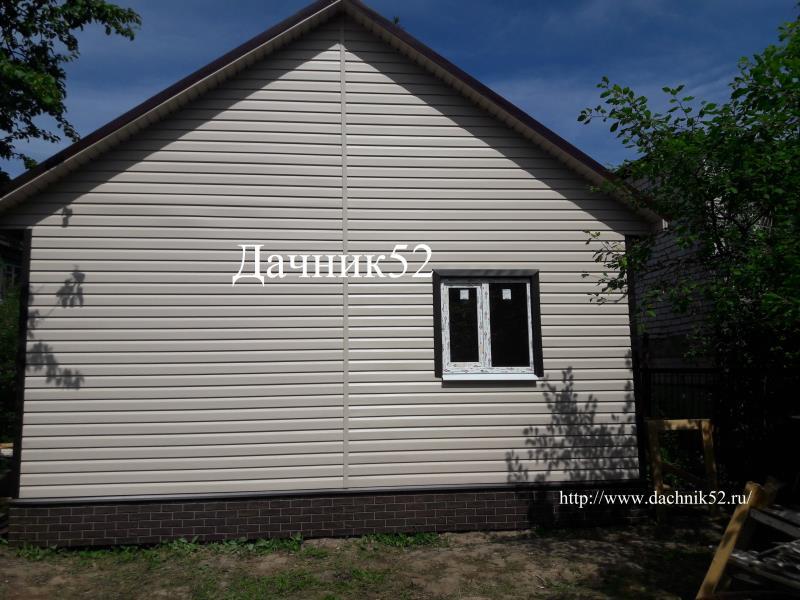 Дачный дом 6х6 фото Дачник52 нижний новгород