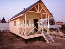 Дачный дом 4 х 9