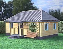 Дом 6х8,5 с вальмовой крышей