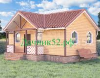 Каркасный дом 5х9 проект Соло 5