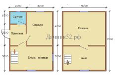 План дома 5х7 Кременки 6